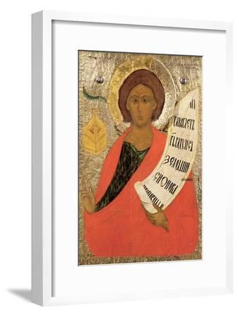 The Holy Prophet Zacharias, Russian Icon from an Iconostasis in the Antoniev Monastery--Framed Giclee Print