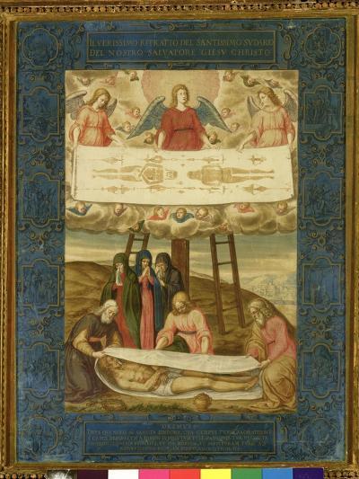 The Holy Shroud-Giovanni Battista Della Rovere-Giclee Print