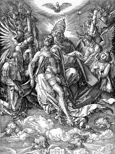 The Holy Trinity, 1511 (Woodcut)-Albrecht D?rer-Giclee Print