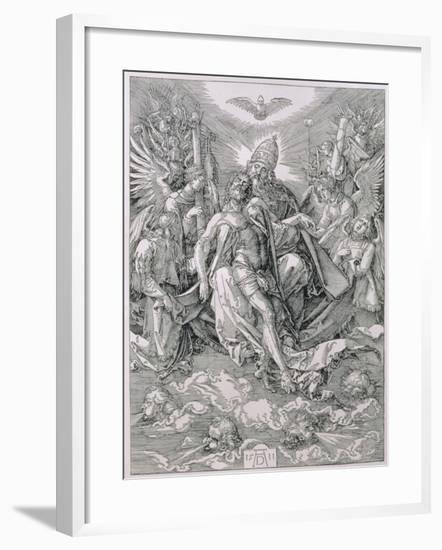 The Holy Trinity, Pub. 1511-Albrecht Dürer-Framed Giclee Print
