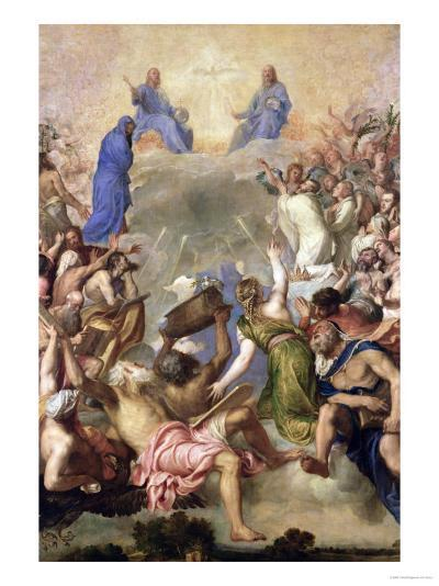 The Holy Trinity-Titian (Tiziano Vecelli)-Giclee Print