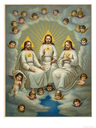 The Holy Trinity- Leiber-Giclee Print