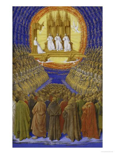 The Holy Trinity-Jean Fouquet-Giclee Print