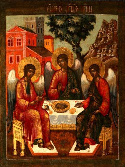 The Holy Trinity-Cornili Ulanov-Giclee Print