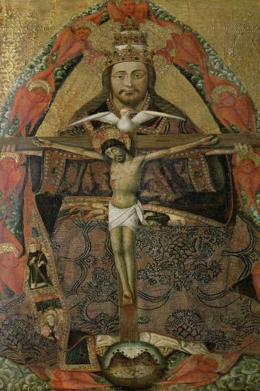 The Holy Trinity-Juan Rexach-Giclee Print