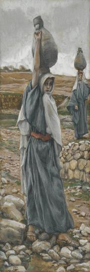 The Holy Virgin in Her Youth from 'The Life of Our Lord Jesus Christ'-James Jacques Joseph Tissot-Giclee Print