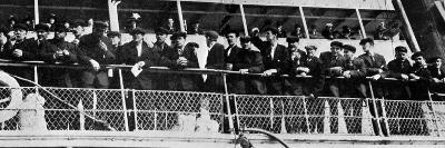 The Home Coming of the 210 Survivors of the Titanic's Crew--Photographic Print