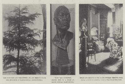 The Home of Baden-Powell--Giclee Print