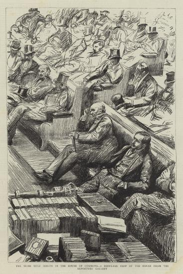 The Home Rule Debate in the House of Commons--Giclee Print