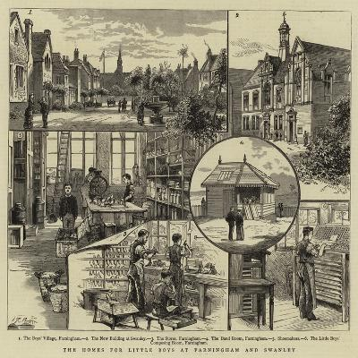 The Homes for Little Boys at Farningham and Swanley--Giclee Print