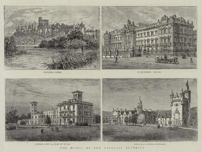 The Homes of the Princess Beatrice--Giclee Print