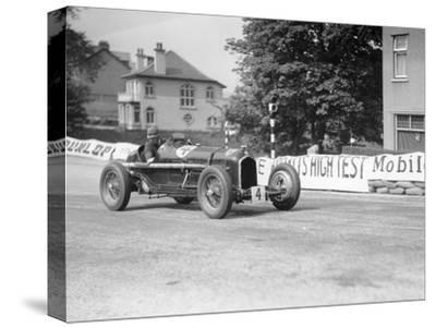The Hon Brian Lewis in an Alfa Romeo Tipo B P3, Isle of Man, 1934