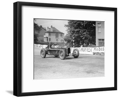 The Hon Brian Lewis in an Alfa Romeo Tipo B P3, Isle of Man, 1934