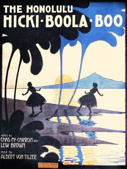 The Honolulu Hicki-Boola-Boo-Andre C. De Takacs-Art Print