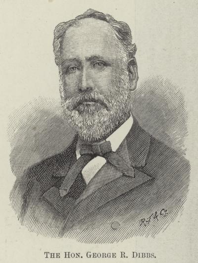 The Honourable George R Dibbs--Giclee Print