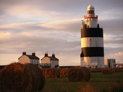 The Hook Head Lighthouse in County Wexford Was Built in the 13th Century Ireland-Doug McKinlay-Photographic Print