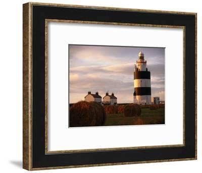 The Hook Head Lighthouse in County Wexford Was Built in the 13th Century Ireland-Doug McKinlay-Framed Photographic Print