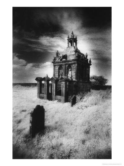 The Hopper Mausoleum, St Andrew's Churchyard, Shotley, Northumberland, England-Simon Marsden-Giclee Print