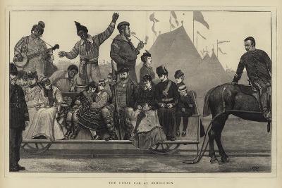 The Horse Car at Wimbledon-Sir James Dromgole Linton-Giclee Print