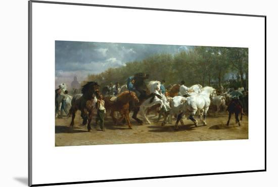 The Horse Fair, 1852-55-Rosa Bonheur-Mounted Giclee Print