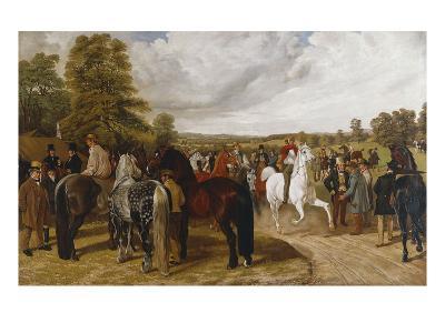 The Horse Fair, Southborough Common-Benjamin Herring I-Giclee Print