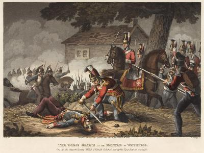 The Horse (Life) Guards at the Battle of Waterloo-William Heath-Giclee Print