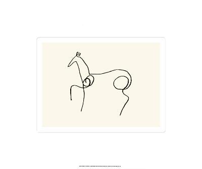 The Horse-Pablo Picasso-Serigraph