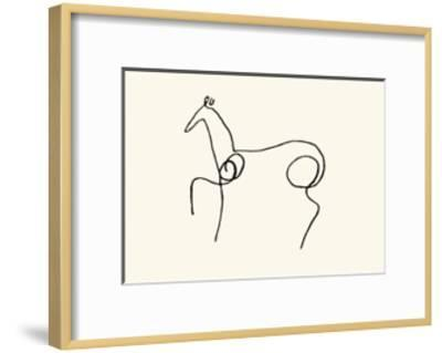 The Horse-Pablo Picasso-Framed Serigraph