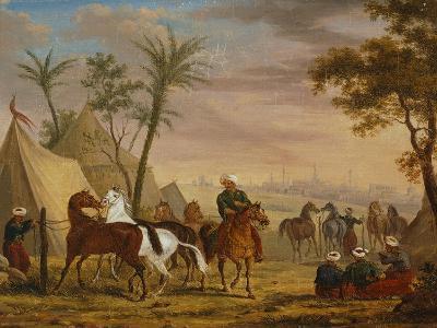 The Horsemen, 1826-Charles Bellier-Giclee Print