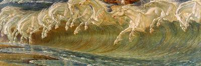 The Horses of Neptune, 1892-Walter Crane-Giclee Print