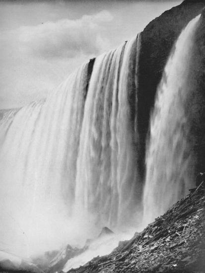 'The Horseshoe Fall', 19th century-Unknown-Photographic Print