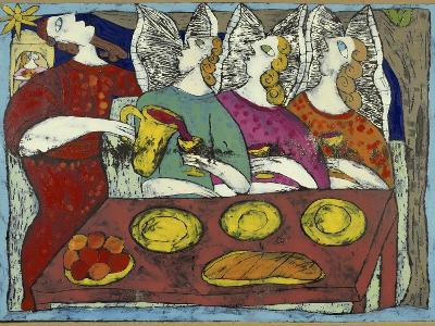 The Hospitality of Abraham-Leslie Xuereb-Giclee Print