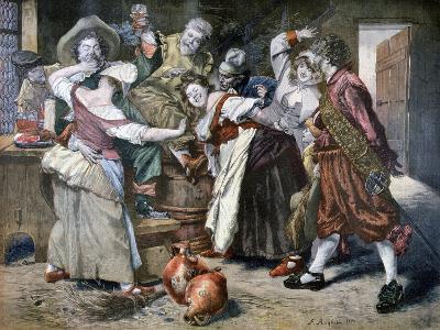 The Hot Hand, 1894-Ferdinand Roybet-Giclee Print