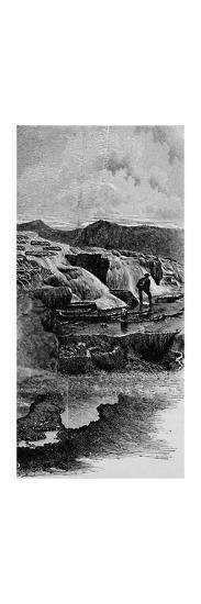 'The Hot Springs near Gardiner's River', 1883-Unknown-Giclee Print