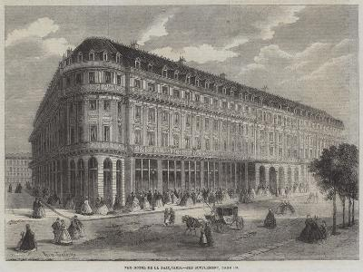 The Hotel De La Paix, Paris-Felix Thorigny-Giclee Print