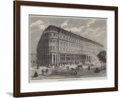 The Hotel De La Paix, Paris-Felix Thorigny-Framed Giclee Print