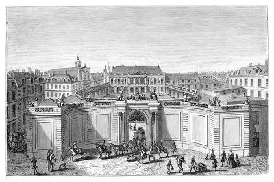 The Hotel De Soubise, Paris- Rigaud-Giclee Print