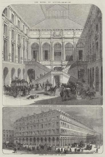 The Hotel Du Louvre--Giclee Print
