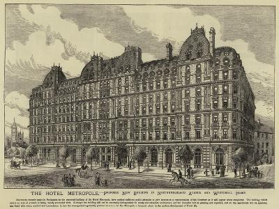 The Hotel Metropole--Giclee Print