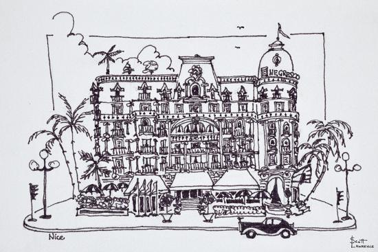 The Hotel Negresco located on the English Promenade, Nice, France-Richard Lawrence-Premium Photographic Print