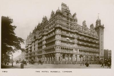 The Hotel Russell, London--Photographic Print