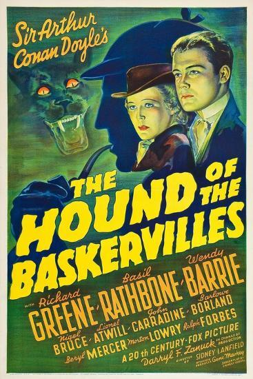 The Hound of the Baskervilles, 1939--Giclee Print