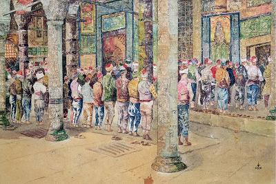 The Hour of Prayer--Giclee Print