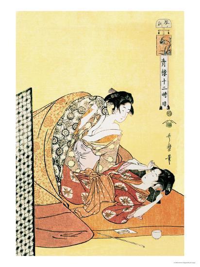 The Hour of the Dragon-Kitagawa Utamaro-Art Print
