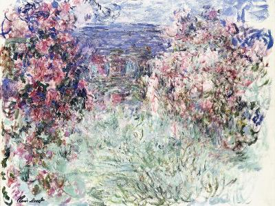 The House Among the Roses, 1925-Claude Monet-Giclee Print
