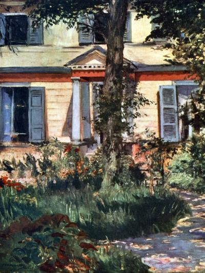 The House at Rueil, 1882-Edouard Manet-Giclee Print