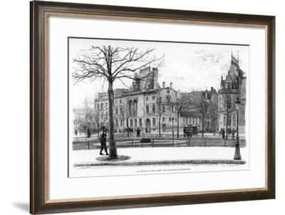 The House in Paris, from the Boulevard Malesherbes, C1880-1882-Jean Louis Ernest Meissonier-Framed Giclee Print