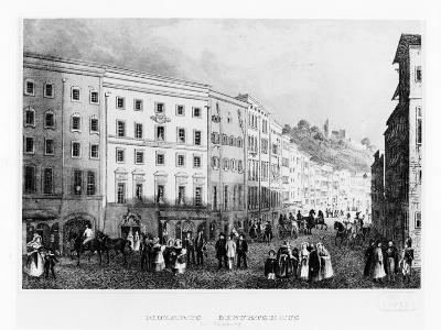 The House in Salzburg in Which Mozart Was Born in 1791, (Mid 19th Centur)--Giclee Print