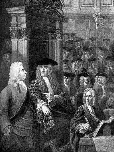 The House of Commons in Sir Robert Walpole's Administration-William Hogarth-Giclee Print