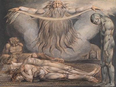 The House of Death-William Blake-Giclee Print
